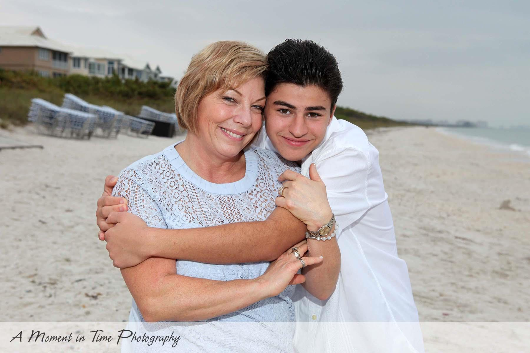 Family Portraits Barefoot Beach A Moment In Time Photo